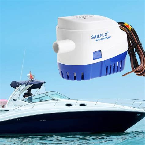 automatic submersible boat bilge water pump 12v 1100gph boat marine automatic submersible bilge water