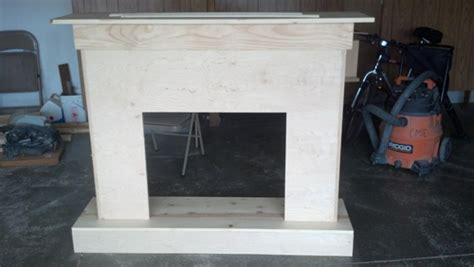 building a custom electric fireplace surround planitdiy