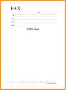 Personal Fax Cover Sheet by Printable Blank Fax Cover Sheet Letter Format Mail