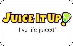 Juice It Up Gift Card - buy juice it up gift cards at a discount giftcardplace