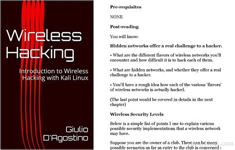 kali linux wireless testing beginner s guide third edition master wireless testing techniques to survey and attack wireless networks with kali linux including the krack attack books the best books for learning how to hack wi fi 2017