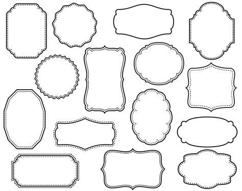 design frame outline white clipart outline frame clipground