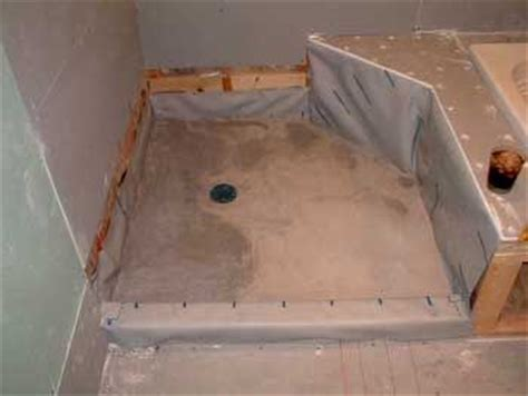 How To Install A Shower Pan Liner by Shower Pan Liner Ebook Ask The Builderask The Builder