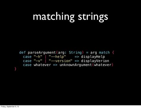 scala pattern matching capture intro to pattern matching in scala