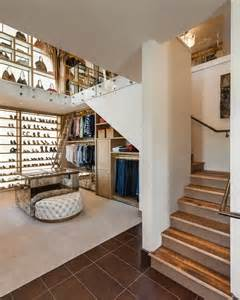 two story walk in closet with built in home office fresh