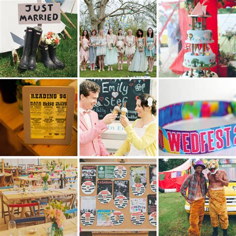 Weddingku Wedding Festival by The Best Ideas For Festival Weddings 183 Rock N Roll