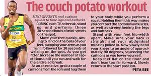 couch potato workout ask the doctor is there no cure for my aching muscles
