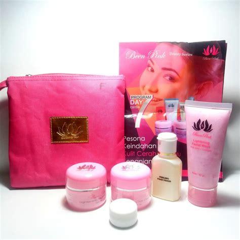 Alat Kecantikan Penghalus Wajah Setrika Wajah Menghil Diskon been pink paket flek poriskosmetik