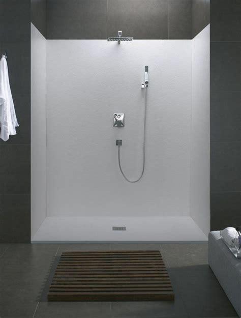 duschkabine offen kleines bad einrichten dusche offene duschkabine fliesen