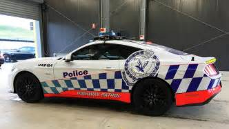 new highway patrol cars nsw mustang back on the radar for nsw car news