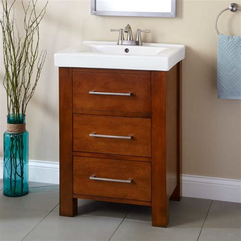 houzz vanity 24 quot peterson vanity modern bathroom vanities and sink