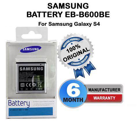 Baterry Baterai Samsung Galaxy S4 I9500 100 Original Garansi T1910 6 100 original samsung eb b600be battery for samsung galaxy s4 gt i9500 i9502 in india