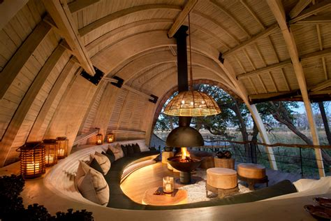 space themenzimmer a sustainable safari lodge arrives in botswana contemporist