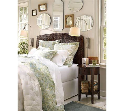 mirror above headboard vintage mirror grouping above headboard mirrors pinterest