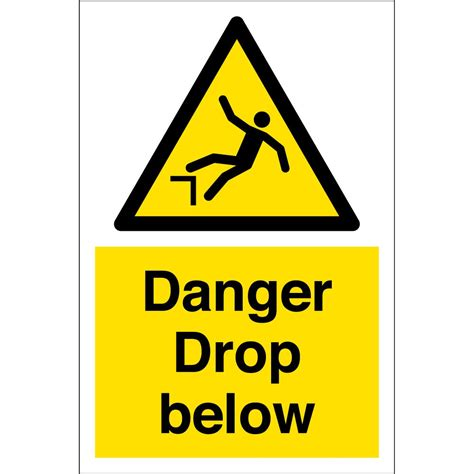 12 Warning Signs Your Is In Danger by Danger Drop Below Warning Signs From Key Signs Uk
