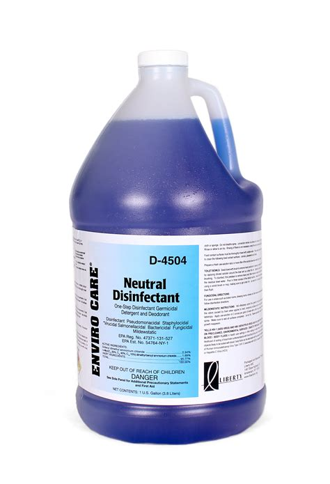 enviro care 174 neutral disinfectant cleaner d4504 0000 000 janitorial equipment supplies