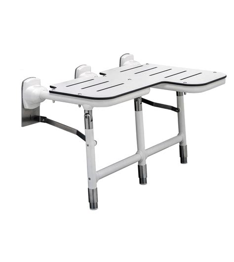 bariatric shower bench seats b 918116l bariatric folding shower seat with legs