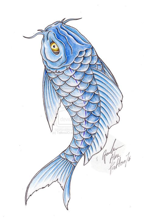 blue koi tattoo designs 38 best blue koi fish designs images on