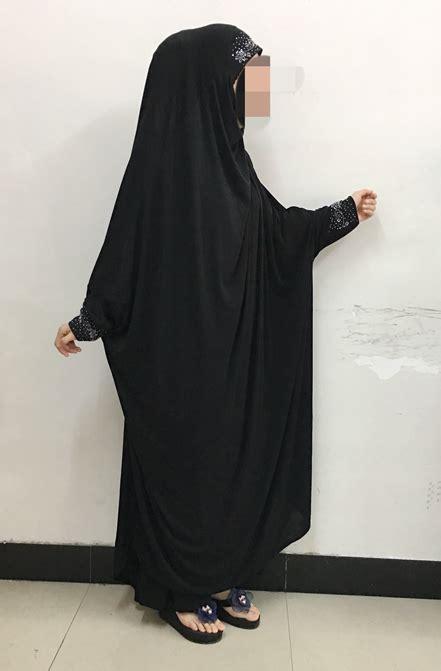 Hijabjilbab Sequin Pet Item muslim arab burqa islamic one abaya