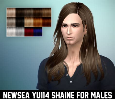 long hairstyles for men sims 4 image gallery long male hair sims 4