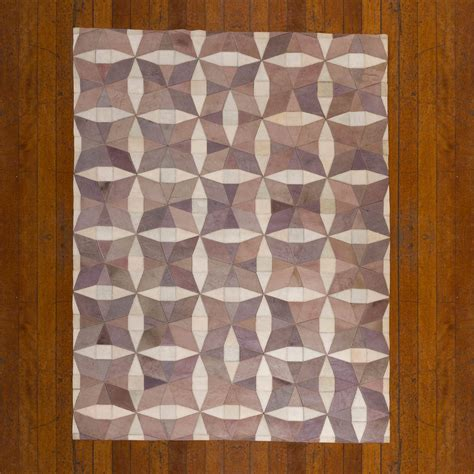 Patchwork Cowhide Leather Rugs - patchwork leather cowhide rug harrods 120x180cm 2