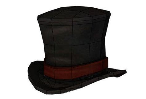 Paper Craft Hats - papercraftsquare new paper craft size top hat