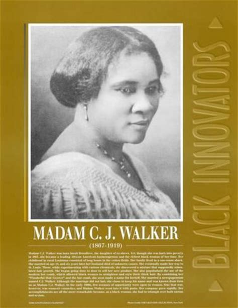 all about madam c j walker all about books great black innovators madame c j walker prints at