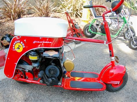 doodlebug mini bike hiawatha just picked up an parade bike 40 s doodlebug