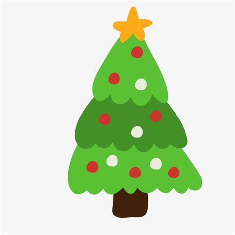 arbol de navidad vector de dibujos animados cartoon