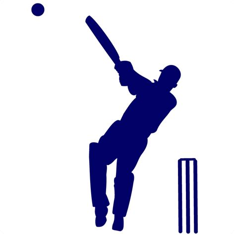 Silhouette Wall Stickers history of cricket how the name cricket came bayside