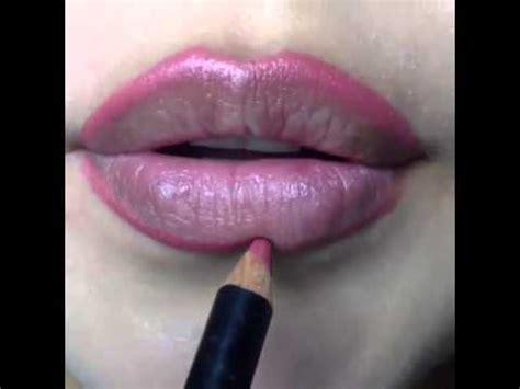 tutorial lipstik yang benar cara memakai lipstik yang baik benar youtube