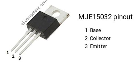 datasheet transistor mje15033 mje15032 n p n transistor complementary pnp replacement pinout pin configuration substitute