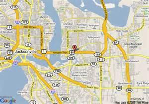 map of regency inn jacksonville