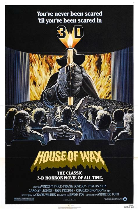 house of wax 1953 poster for house of wax 1953 usa wrong side of the art