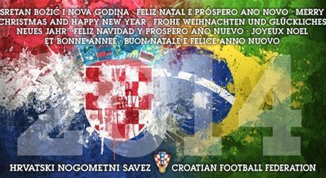 merry christmas   happy  year croatian football federation