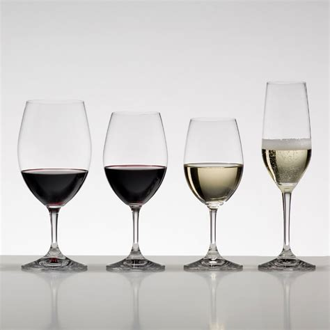 riedel barware riedel ouverture red wine glass set of 2 glassware uk