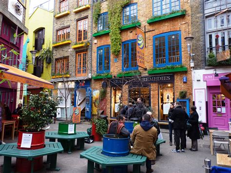 neals yard london  beautiful places   world