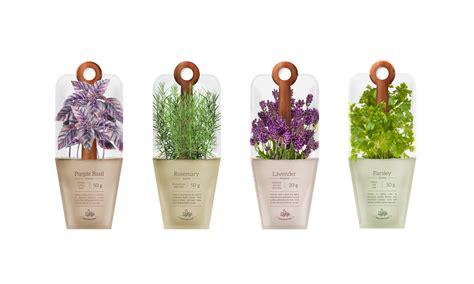 hanging sachets  herbs vegan branding packaging
