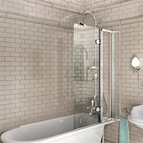 roll top bath with shower screen burlington bathscreen for traditional bath clever access screen 163 279 for turning on the