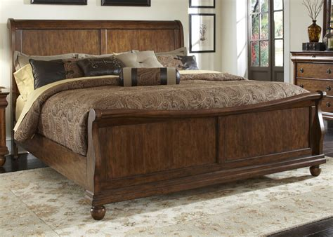 wood furniture king furniture design ideas divine king sleigh rustic bed with artwork bedroom wall