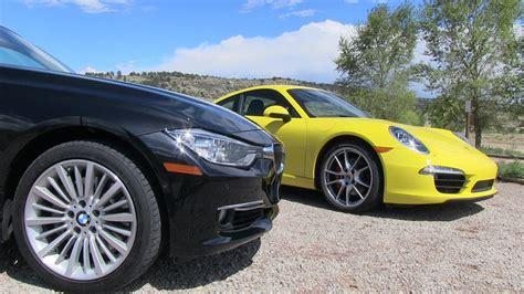 2012 bmw 335i horsepower 2012 bmw 335i vs porsche 911 s 0 60 mph mile high