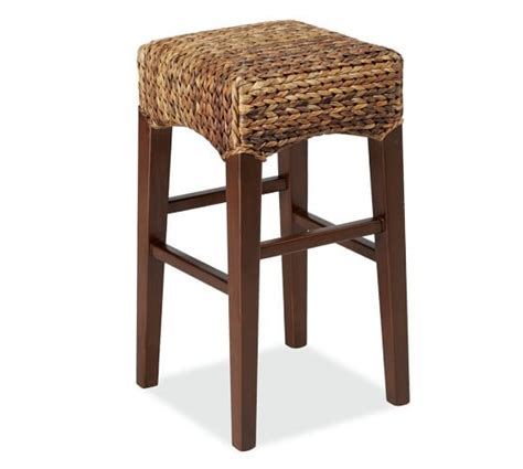 Pottery Barn Island Stools by 25 Best Ideas About Seagrass Bar Stools On