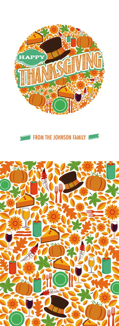 Thanksgiving Card Template Free Illustrator by A Template Cornucopia Free Illustrator Photoshop