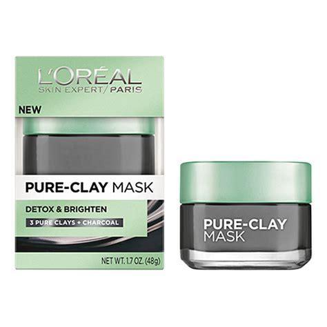 Loreal Clay Mask Detoxify l oreal clay mask detoxify illuminat 1 7oz