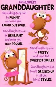 wonderful granddaughter birthday greeting card cards kates