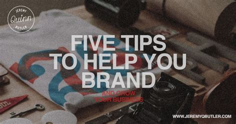 brand doctor helping you grow your business by building five tips to help you brand yourself and grow your business