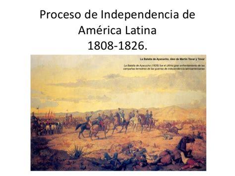 los invencibles de amrica independencia de america latina clase jueves