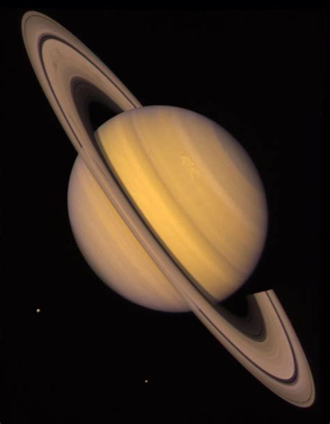 how big is earthpared to saturn gp