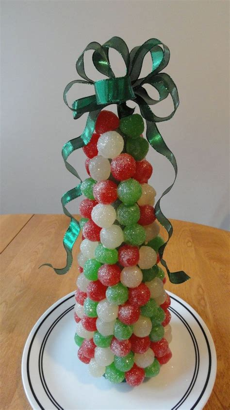 a festive gumdrop tree christmas diy pinterest