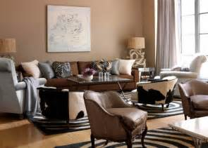 inspiring living room color ideas for brown furniture